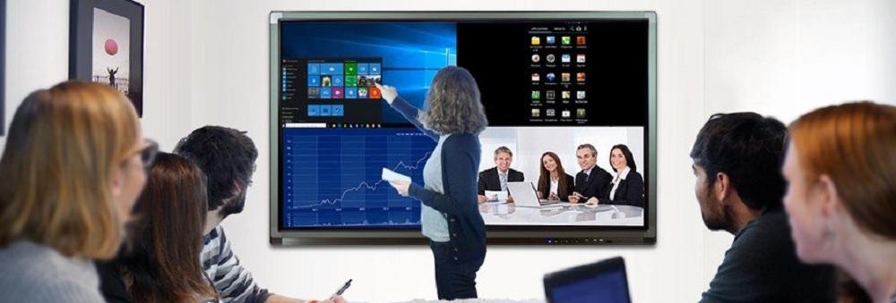 logiciel pour écran interactif pour faire de la visioconférence